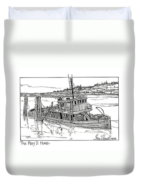The Mary D. Hume Duvet Cover by Ira Shander