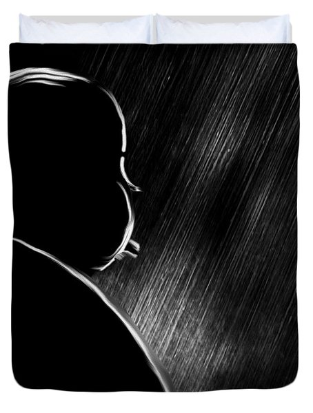 The Master Of Suspense Duvet Cover by Bob Orsillo