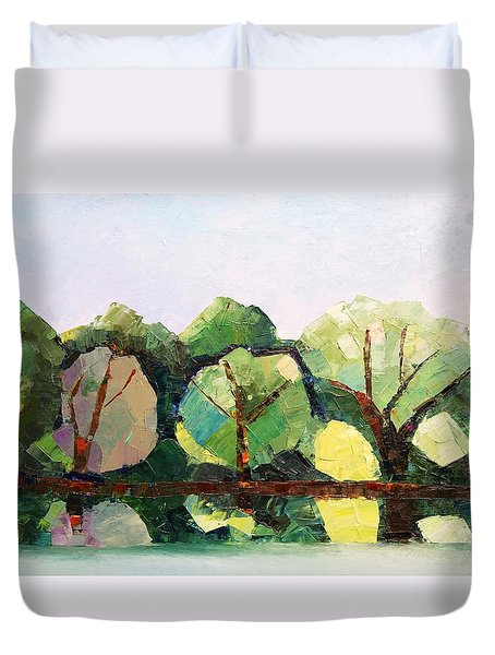 Emajogi Reflections Duvet Cover