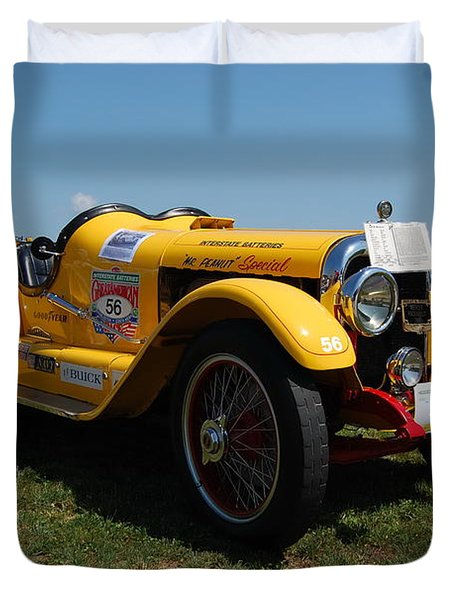 The Mercer Raceabout Roadster Duvet Cover
