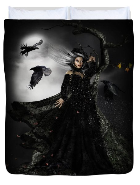 The Messengers Duvet Cover by Shanina Conway