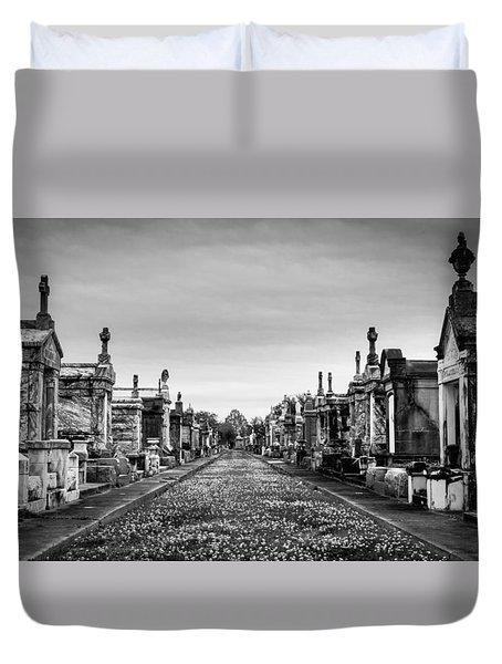 The Metairie Cemetery Duvet Cover