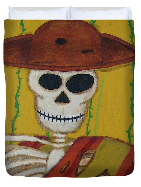 The Mexican Duvet Cover by Mario Perron