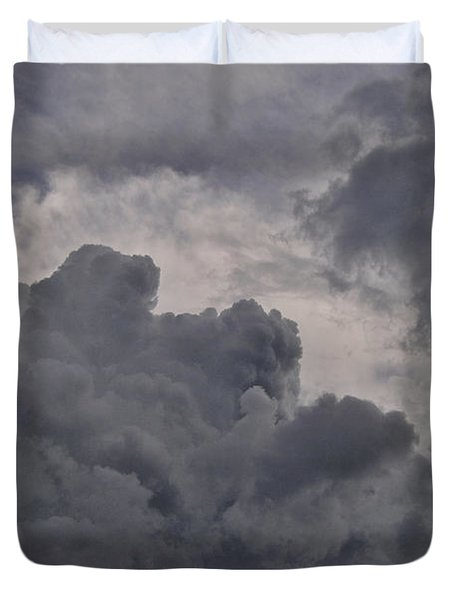 The Mighty Hand Of God Duvet Cover by Paulette B Wright