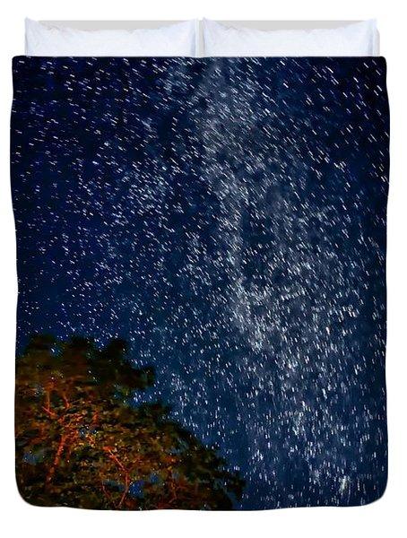 The Milky Way 2 Duvet Cover by Steve Harrington