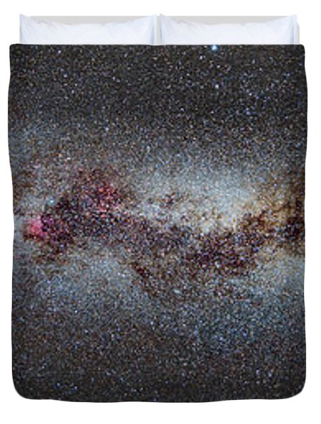 The Milky Way From Scorpio And Antares To Perseus Duvet Cover