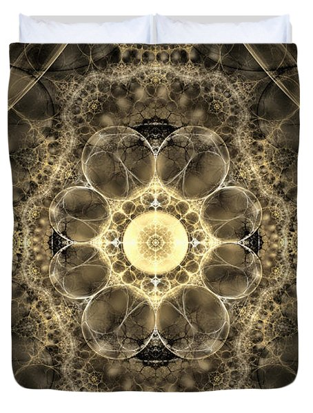 The Mind's Eye Duvet Cover by GJ Blackman