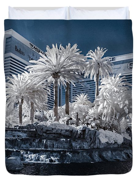 The Mirage In Infrared 2 Duvet Cover