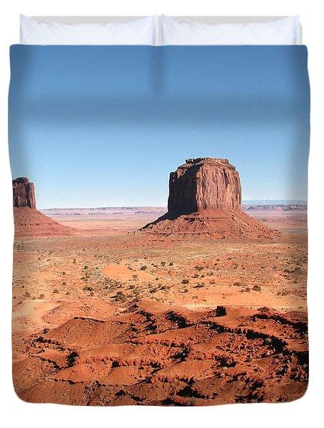 The Mittens Utah Duvet Cover