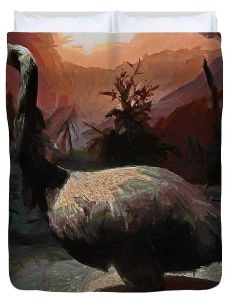 The Moa Duvet Cover by Steve Taylor