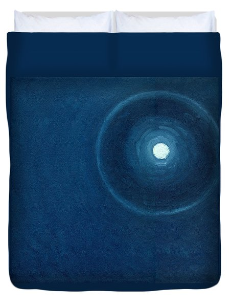 The Moon II Duvet Cover