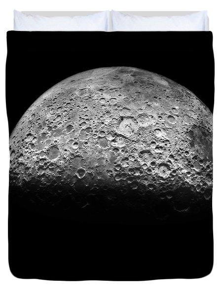 The Moon Duvet Cover by NASA Science Source