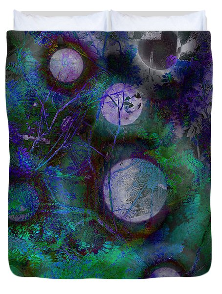 The Moons Of Evermore Duvet Cover