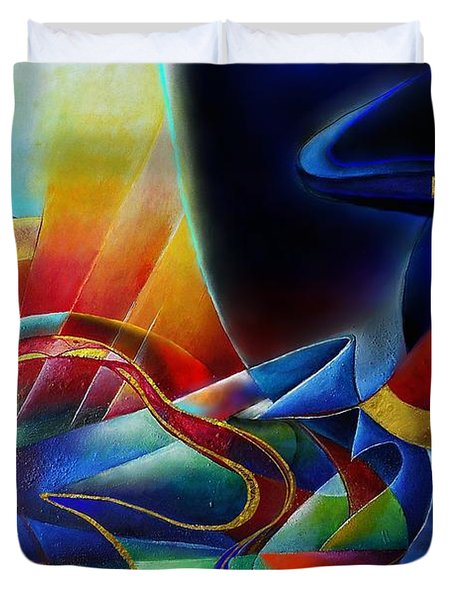 The Morning Duvet Cover by Wolfgang Schweizer