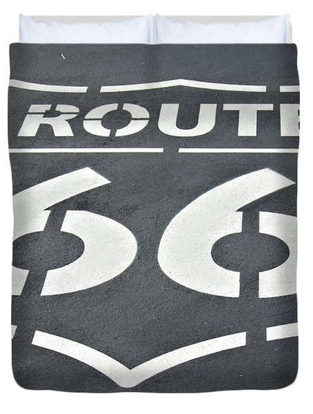 The Mother Road Duvet Cover