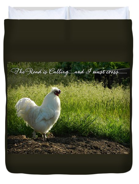 The Mystery Is Solved Duvet Cover