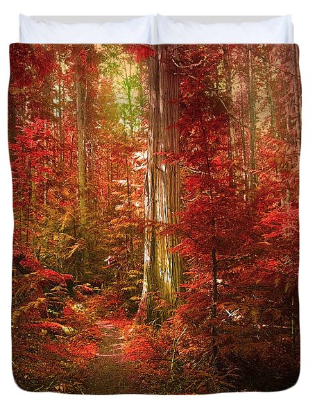 The Mystic Forest Duvet Cover