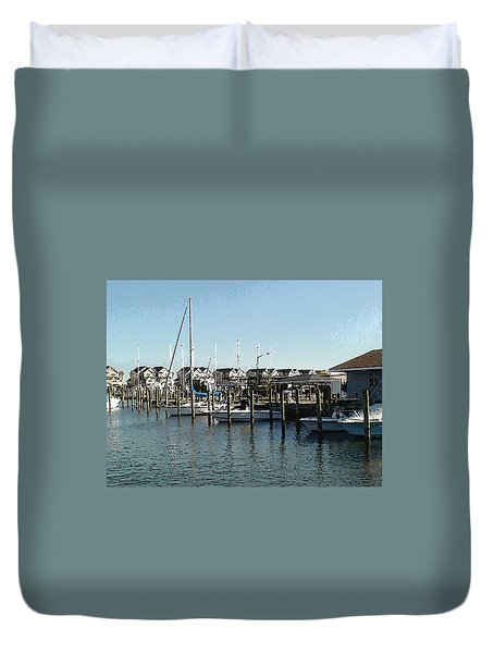 At Kent Narrows Duvet Cover
