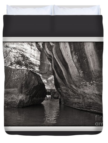 The Narrows II Duvet Cover