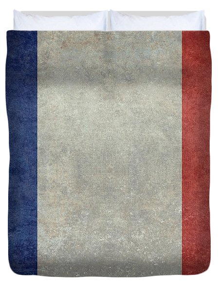 The National Flag Of France Duvet Cover