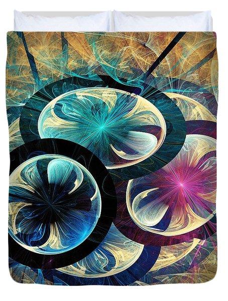 The Nest Duvet Cover by Anastasiya Malakhova