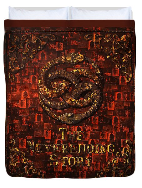 The Neverending Story Duvet Cover