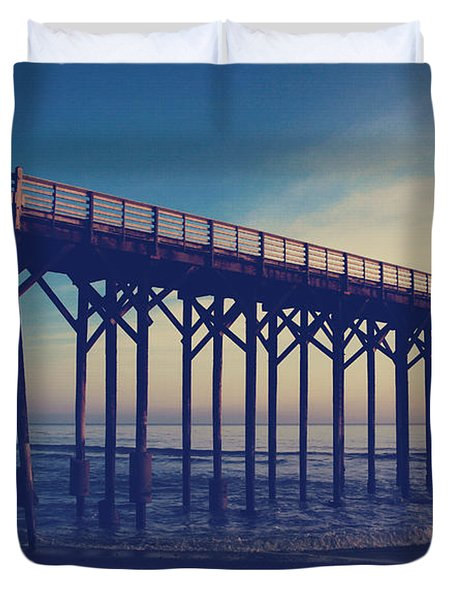 The Night Is Coming And We're Together Duvet Cover by Laurie Search