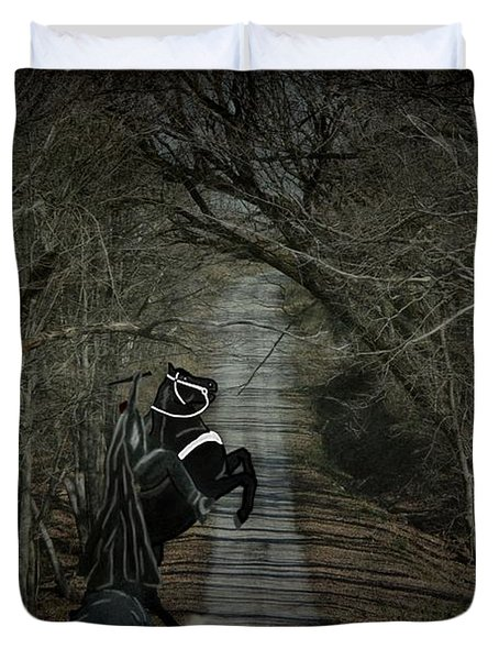 The Nightmare Duvet Cover by Davandra Cribbie