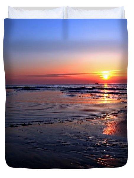 The North Sea Duvet Cover