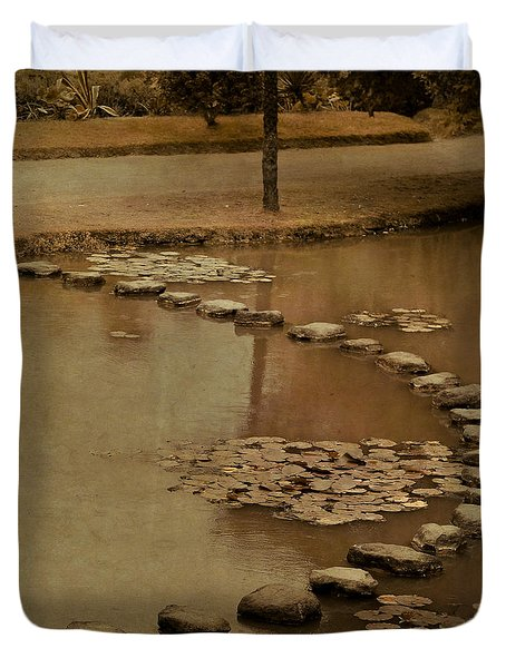The Obstacle Is The Path Duvet Cover
