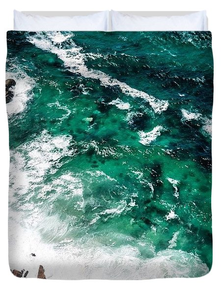 The Ocean, Cape Point Duvet Cover