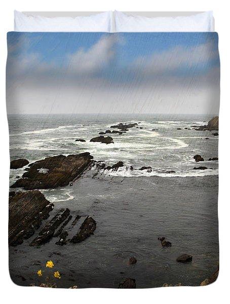 The Ocean's Call Duvet Cover