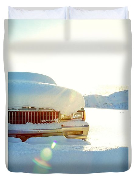 The Old Chevy Duvet Cover by Alanna DPhoto