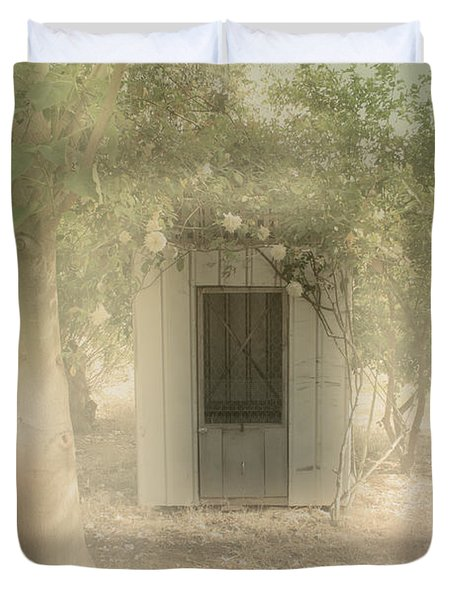 The Old Chook Shed Duvet Cover