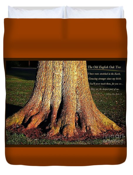 The Old English Oak Tree Duvet Cover