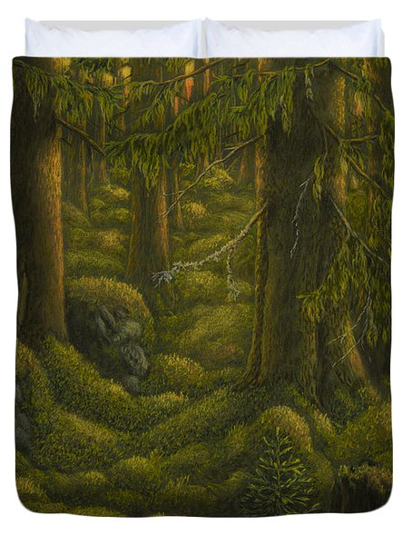 The Old Forest Duvet Cover