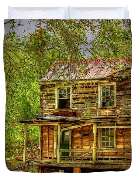 The Old Home Place Duvet Cover by Dan Stone