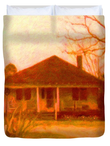 The Old Home Place Duvet Cover