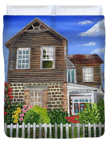 The Old House Duvet Cover by Laura Forde