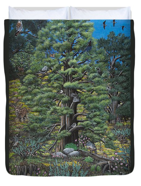 The Old Juniper Tree Duvet Cover