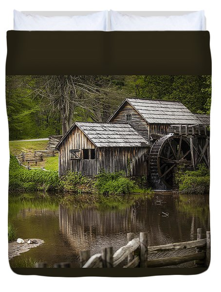 The Old Mill After The Rain Duvet Cover