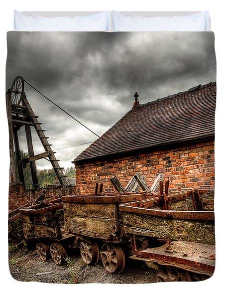 The Old Mine Duvet Cover