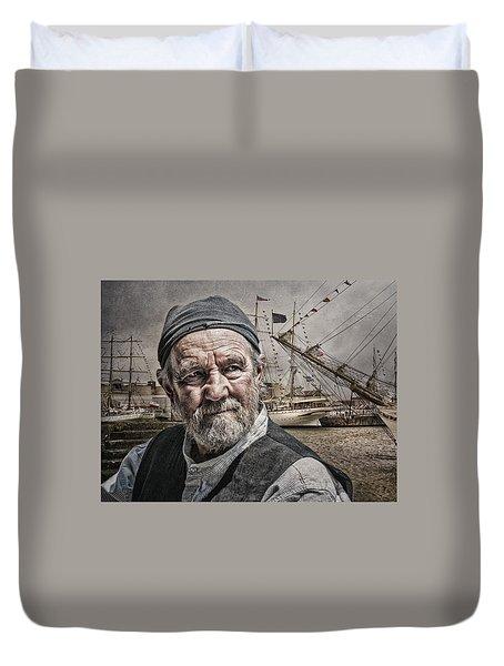 The Old Salt Duvet Cover