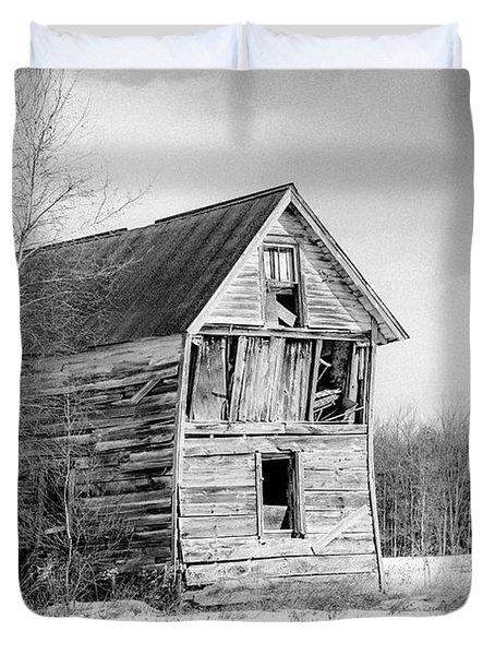 The Old Shack Duvet Cover by Gary Heller