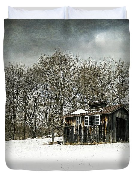 The Old Sugar Shack Duvet Cover by Edward Fielding