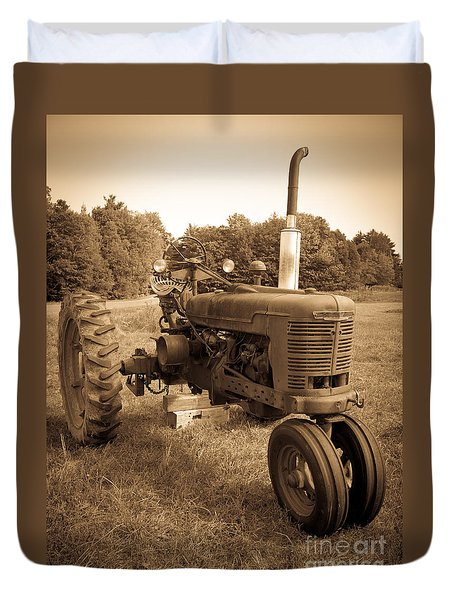 The Old Tractor Duvet Cover