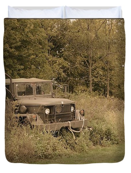 The Old Truck Duvet Cover