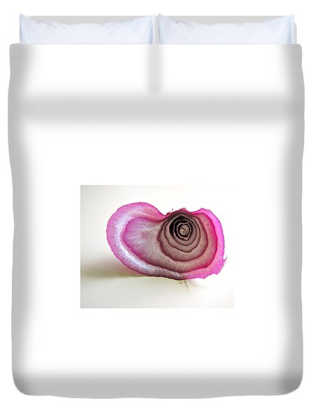 The Onion Remnant Duvet Cover by Sean Griffin