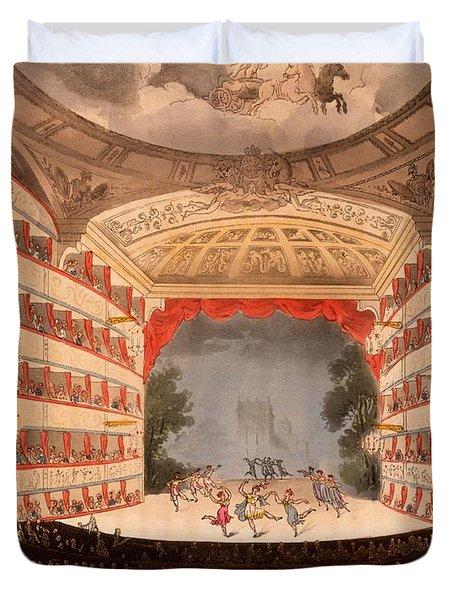 The Opera House, London Duvet Cover