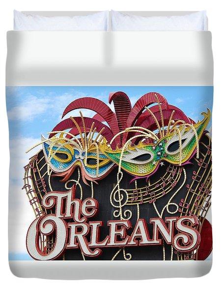 The Orleans Hotel Duvet Cover by Cynthia Guinn